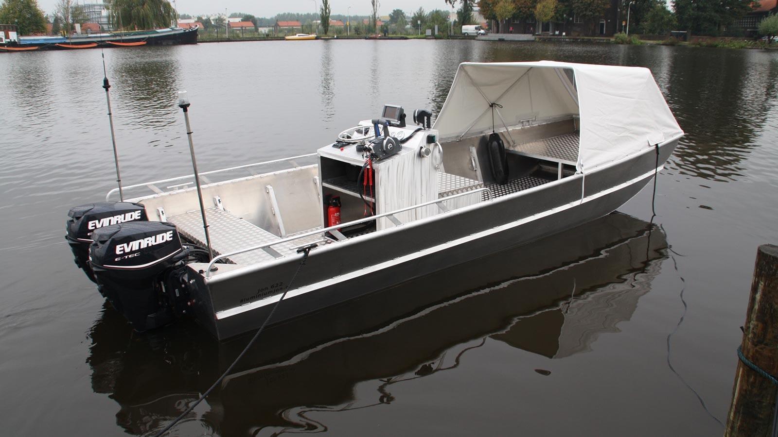 AluminiumJon.nl - JON 622 - Standaard & Heavy Duty - Aluminium boten