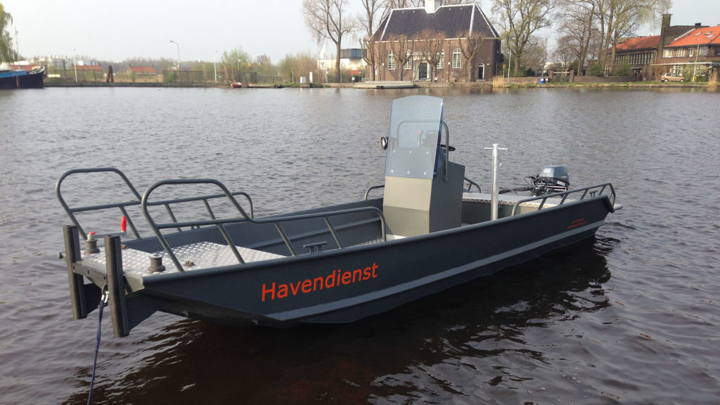 AluminiumJon.nl-Jon 518-Aluminium workboat a.o. suitable for port services