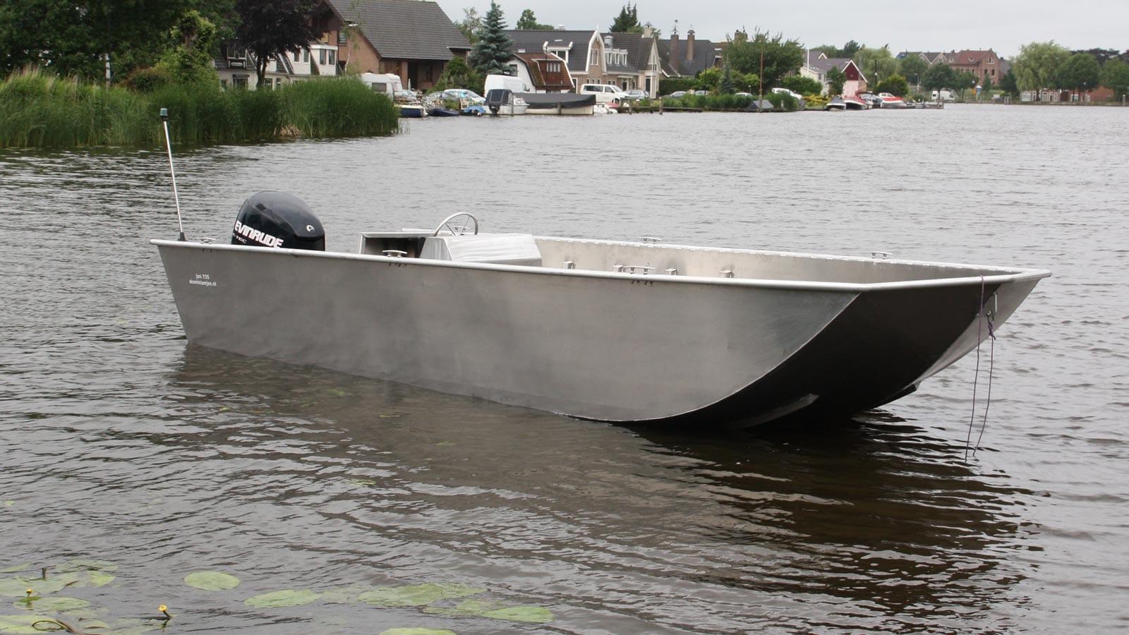 AluminiumJon.nl - Jon 722 - Jon722 - Aluminium (werk)boot