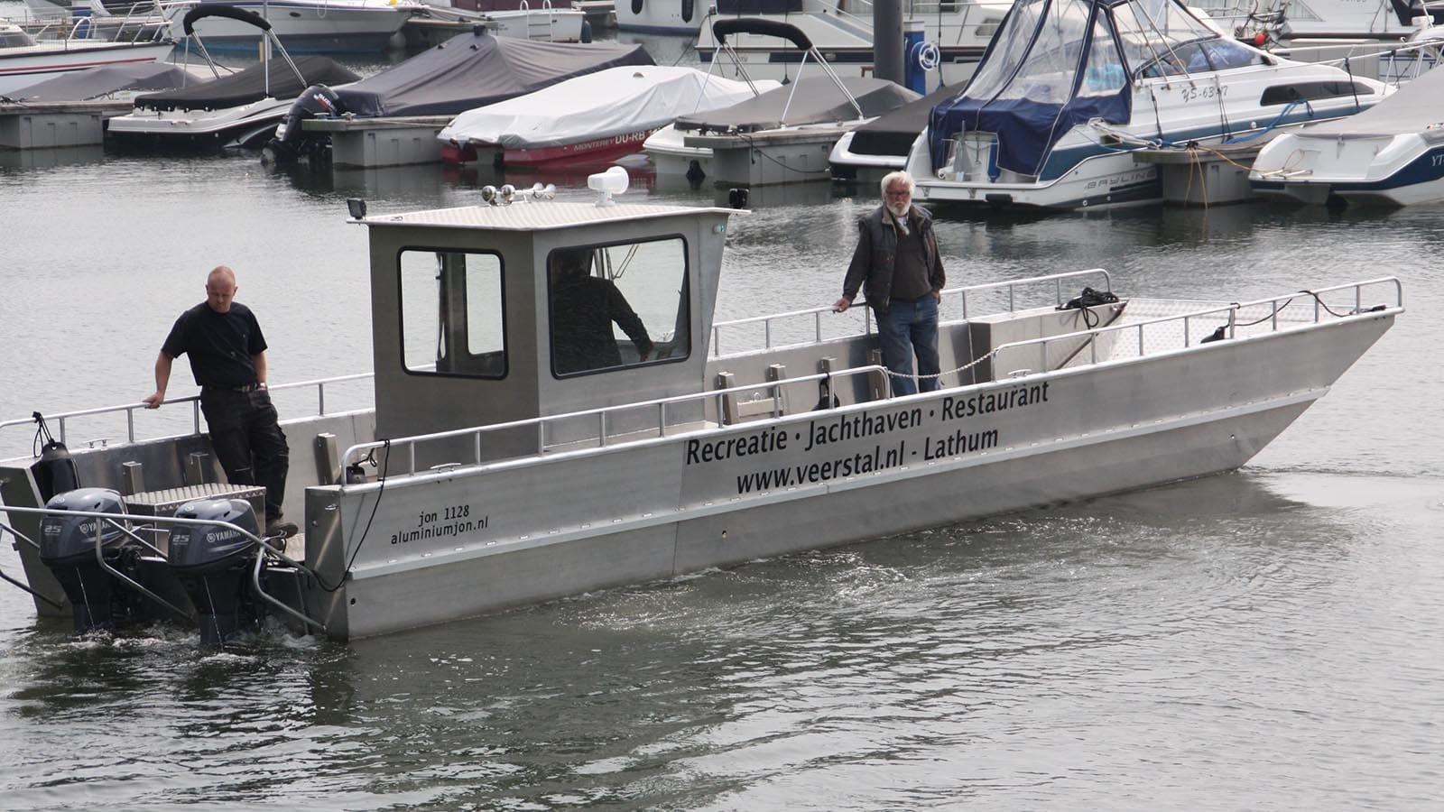 AluminiumJon.nl-Landing Craft 11 meters-Standard & Heavy Duty-Aluminium Boats