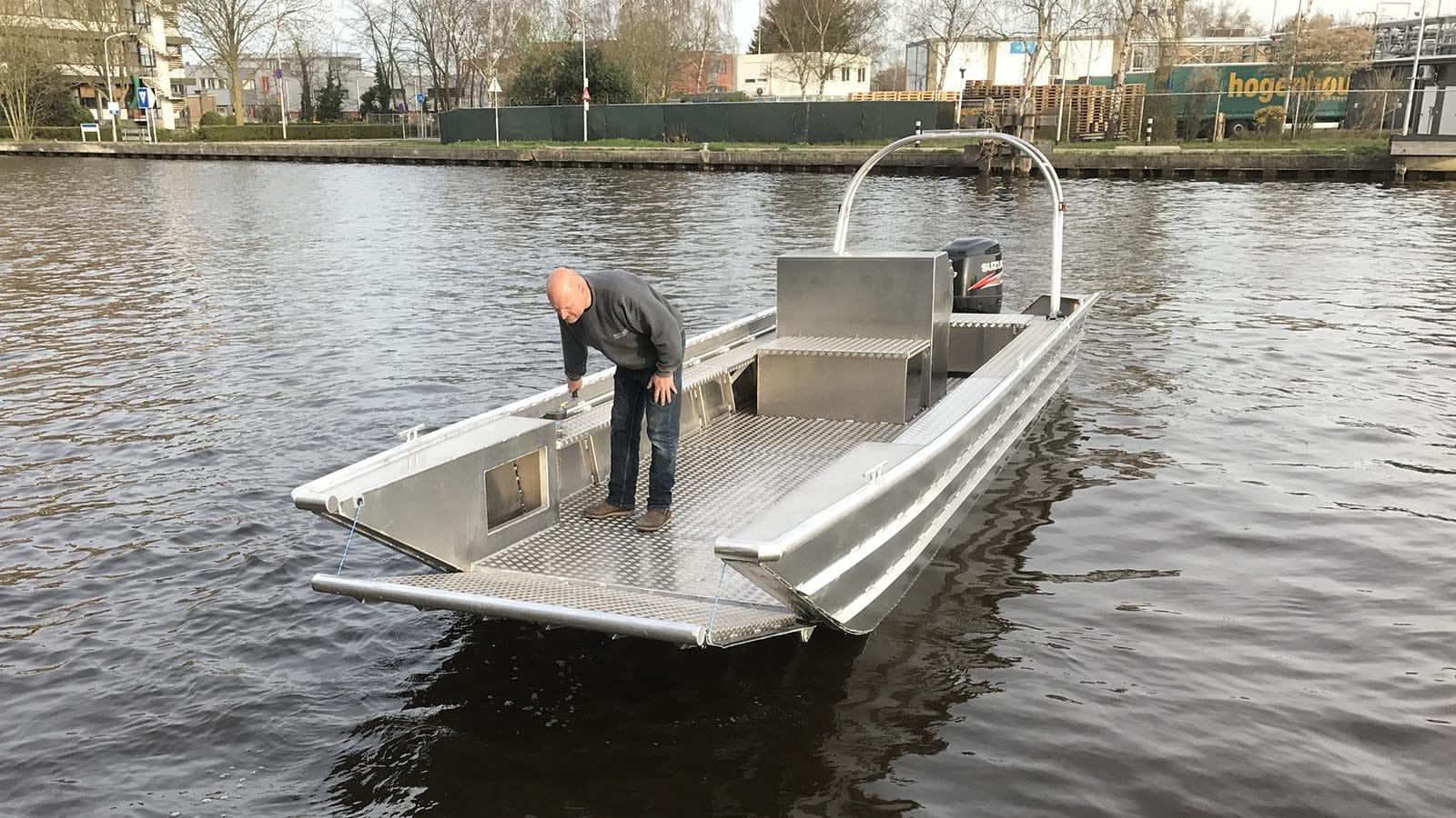 AluminiumJon.nl-Landing Craft 8 meter-Aluminium workboat a.o. suitable for port services