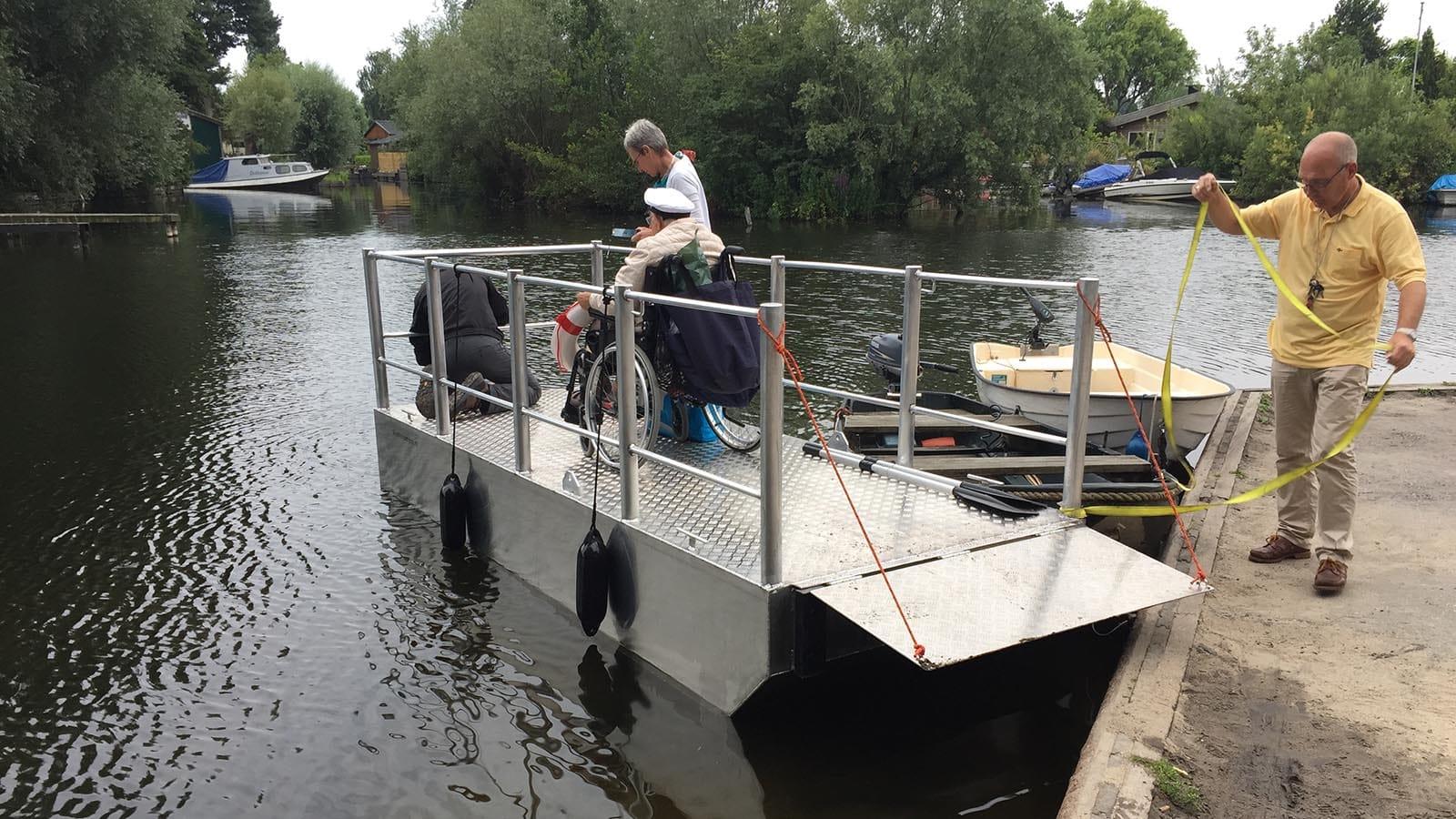 AluminiumJon.nl - Ponton 4 meter - Aluminium custom build pontons o.a. geschiktvoor havendiensten