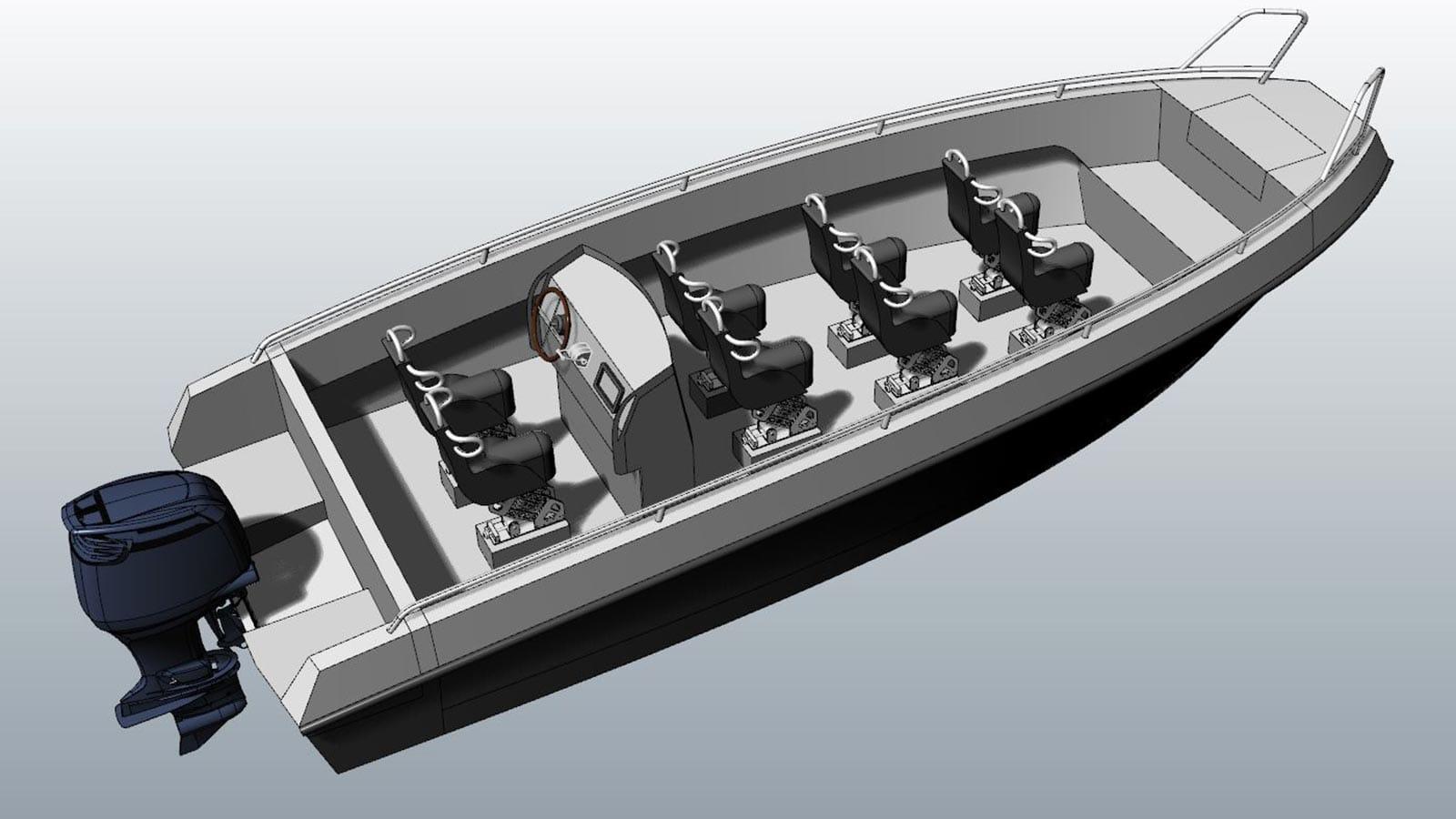 AluminiumJon.nl - BS 600 tender - Standaard & Heavy Duty - Aluminium boten