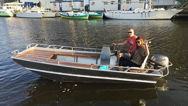 Custom made aluminium boats-AluminiumJon.nl-JON-JON 415-Custom made Aluminium boats for work and leisure