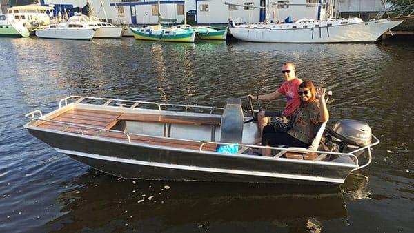 Aluminium boten op maat - AluminiumJon.nl - JON - JON 415 - Aluminium boten op maat voor werk en vrije tijd