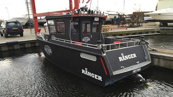 AluminiumJon.nl - Patrol serie - 8 meter - Sea Ranger - Aluminium boten op maat ook voor op zee.